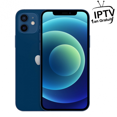 iPhone 12 - 256 Go - Bleu (MGJK3AA-A)