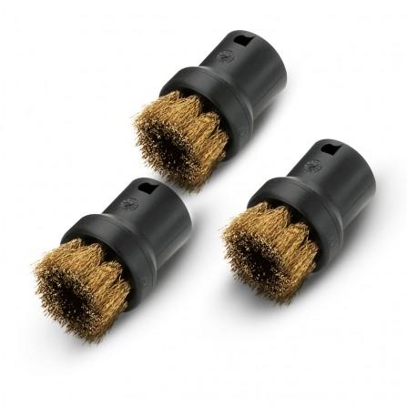 Jeu de brosses métalliques Karcher SC1-4 (PRKA48016)