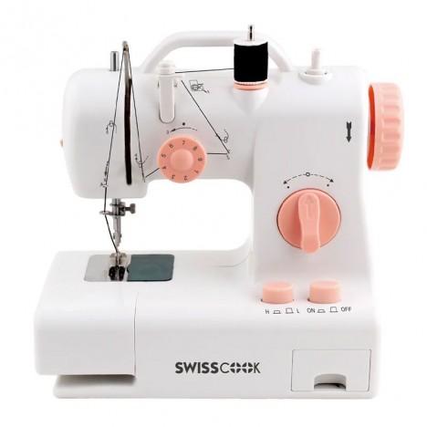 Machine à Coudre SWISSCOOK - Blanc (SM-3170)