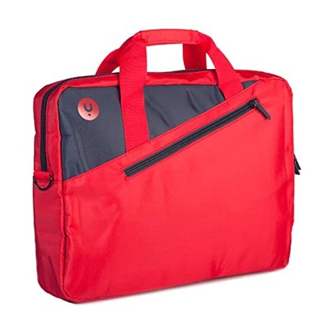 """Sacoche Rouge NGS pour ordinateur portable 15.6"""" (GINGERRED)"""