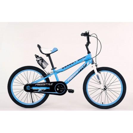 """Vélo ENFANT Free Style 20"""" - ZIMOTA - Bleu (10040003)"""