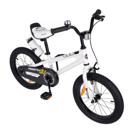 """Vélo ENFANT Free Style 20"""" - ZIMOTA - Blanc (10040003)"""