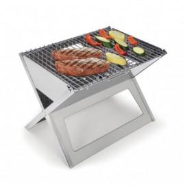 Barbecue SWISSCOOK pliable en inox ( barbecue-inox)