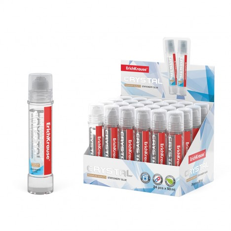 Colle Glue ErichKrause® Crystal - 135 ml (48711)