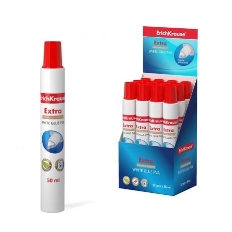 Colle PVA blanche ErichKrause® Extra - 50 ml (48725)