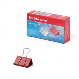 Pinces à reliure ErichKrause® colorées - 19 mm (25089)