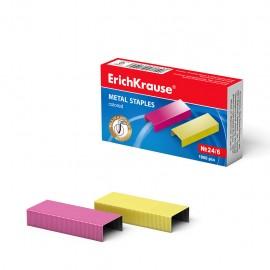 Agrafes №24/6 ErichKrause® Colorées (7145) (4041485071457)
