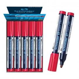 Pack de 10 Marqueur SCHNEIDER Tableau Maxx 290 - Rouge ( PCK500203412900R)