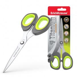 Ciseaux ErichKrause® Titanium - 17.5cm (30787)(4041485307877)