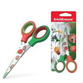 Ciseaux ErichKrause® Junior Décor Summer avec impression sur lames - 13 cm (14600)(4041485146001)