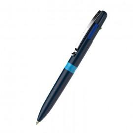 Stylo à bille SCHNIEDER Take 4 Quatres Couleurs - Bleu(138003)