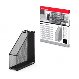 Porte-Papier Vertical En Métal ErichKrause® Compass - Noir (22509)(4041485225096)