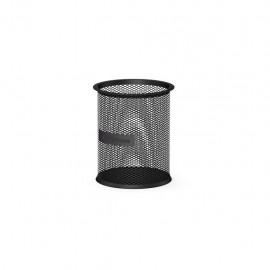 Porte-stylo cylindrique en métal ErichKrause® Compass - Noir (22501)