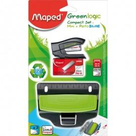 Kit Agrafage MAPED 3 pièces GreenLogic - (898210)