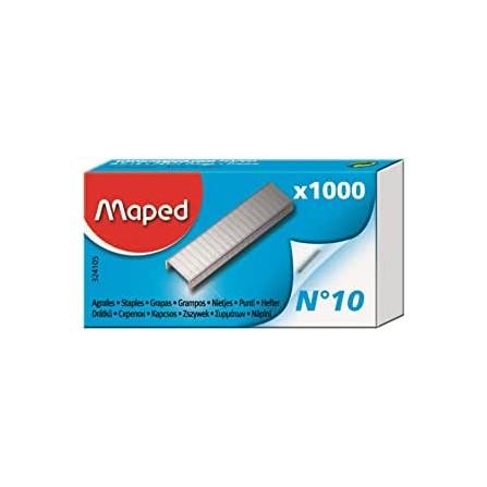 AGRAFE N°10 MAPED Boîte de 1000 (324105)