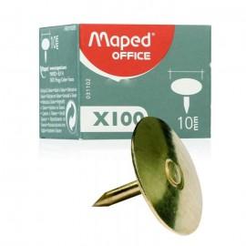 Punaise Cuivrée MAPED 10mm - 100 Piéces (31102)