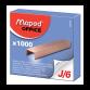 AGRAFES MAPED 6MM J/6 CUIVREES - BOITE DE 1000 (326105)