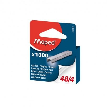 AGRAFES MAPED 21/4 - 48/4 GALVA BROCHABLE - BTE/1000 (325305)