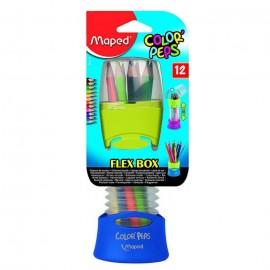 Boite De 12 crayons couleurs MAPED 12/18 (683212)