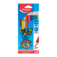 Pack de 12 Crayons couleurs MAPED 12/18 - (183212 )