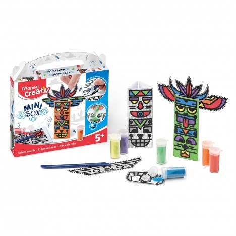 Kit COLOR & PLAY MAPED Mini Box Coloured Sands (907014)