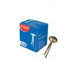 Boîte De 100 Attache Parisienne MAPED 16 mm -(330820)
