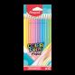 Boite de 12 Crayons MAPED Coul'peps Pastel - (832069)