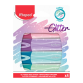 Pochette 4 Marqueurs MAPED flou Classic Glitter couleur pastel -(742046)