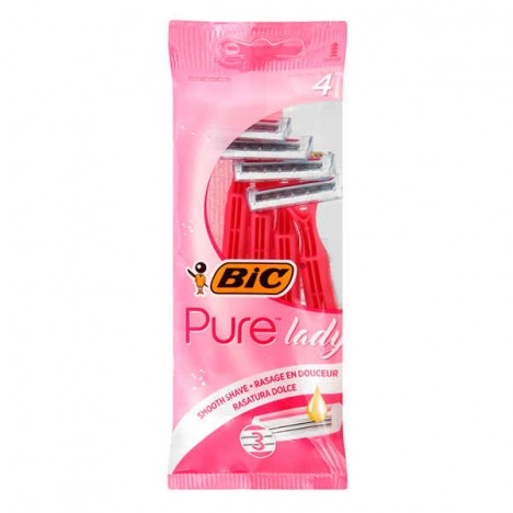 BIC® Pure3™ Lady Pouch 4 - (3086123363816)