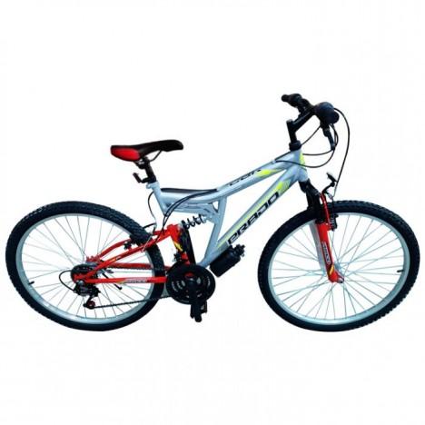 "Bicyclette PRADO - VTT BLACK DAWN 26"" Gris (9026 D)"