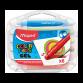 Boite de 6 Crayons MAPED Gel colors peps - (836306)