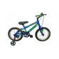 "Bicyclette PRADO SNIPER 16"" Pour Garçon - Bleu&Vert (6016 PG)"