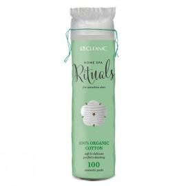 Cotton Disque CLEANIC Bamboo cosmetics pads -120 pcs (5900095024651)