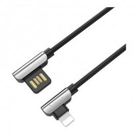 Câble Hoco U42 Gamer 3A pour Iphone - Noir (U42-3A-IP-BK)