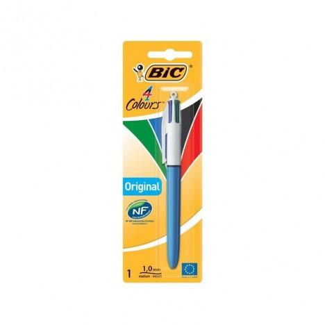 Stylo à bille BIC 4 Couleurs original - (3086121601613)