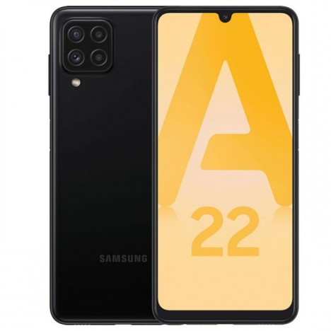 Smartphone SAMSUNG Galaxy A22 64 Go - Noir (BU-SM-A22-4-64-BLACK)