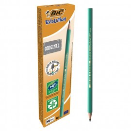 Boite De 12 Crayon BIC a Papier Conte 650 (3270220004608)