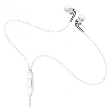 Ecouteur HOCO M71 MP3 avec Micro - Blanc (M71-WH)