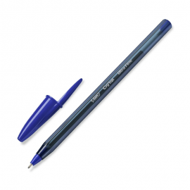 Stylo à bille BIC Cristal Ultra fine 0.7mm / Bleu (919933)