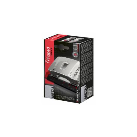 Perforateur MAPED Advance Métal Argent 20/25F (620310)