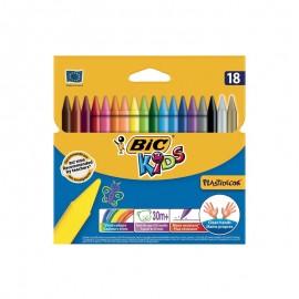 Pastel Bic Box de 18 (3270220000358)