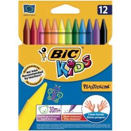 Pastel Bic Kids PastiDecor Box De 12 (3270220000341)