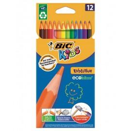 Crayon Coloriage Bic Kids Evolution Ecolutions (3270220060963)