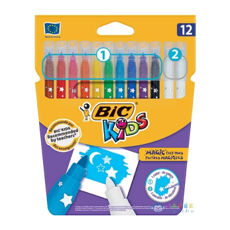 Feutres Coloriage Bic Kids Magic - 12 (174115)