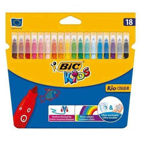 Feutres Coloriage Bic Kids - 18 (002734)