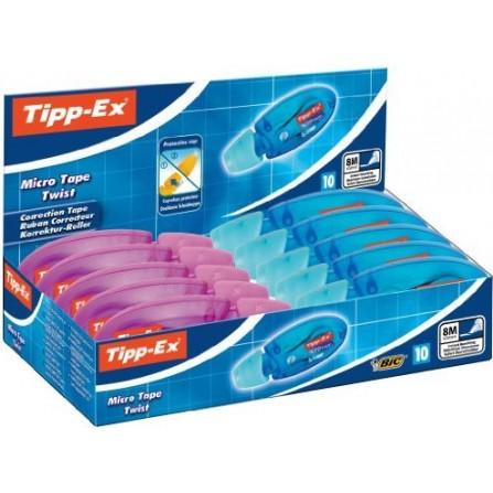 Correcteur Bic Tip-ex MT Twist - Boite de 10(3086123120051)