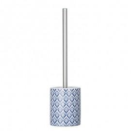 Brosse WC WENKO Lorc - bleu-Céramique (WEBR52177)