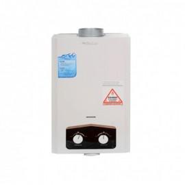 Chauffe Bain BIOLUX 6 Litres Gaz Bouteille - Blanc (M.06 GN)