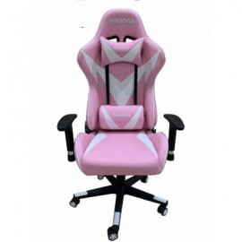 Chaise Pilote Gaming - Rose (4400015052-Pink)