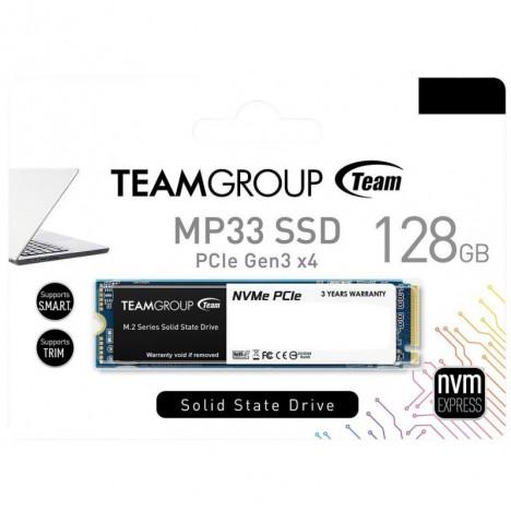 Disque Dur Interne SSD M.2 TeamGroup MP33 - 128 Go (TM8FP6128G0 C101)